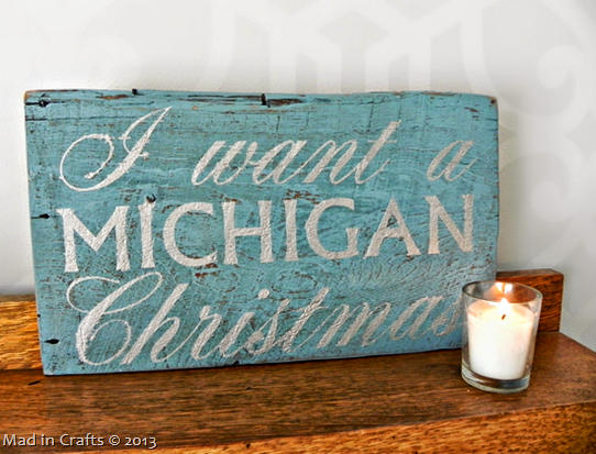 I Want a Michigan Christmas
