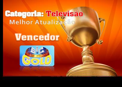 Categoria-Televisão-Melhor Atualização-Vencedor SIC GOLD
