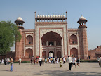 Entrance to the Taj