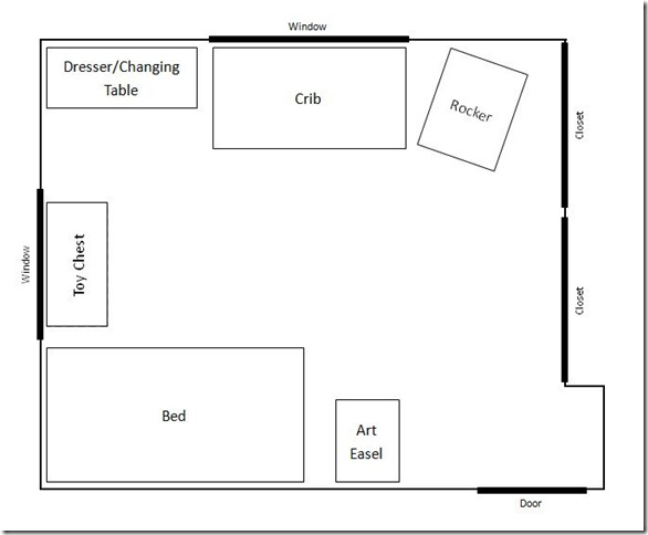 Combined Room Layout 1