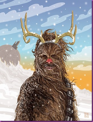 chewie-red-nosed