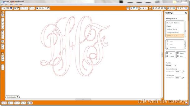 Insert letters