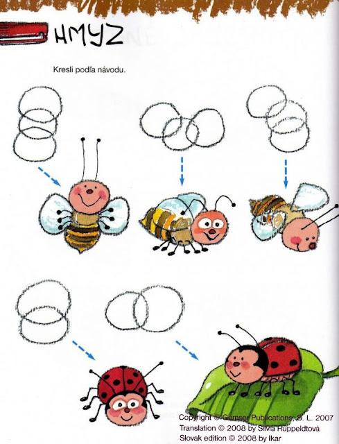 Aprender a pintar insectos aves - Aprender a pintar ...