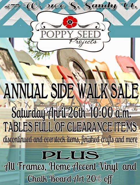 Side Walk Sale 2013 coupon