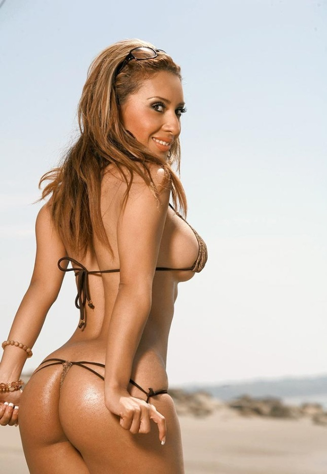 Pam Rodriguez hot en la playa