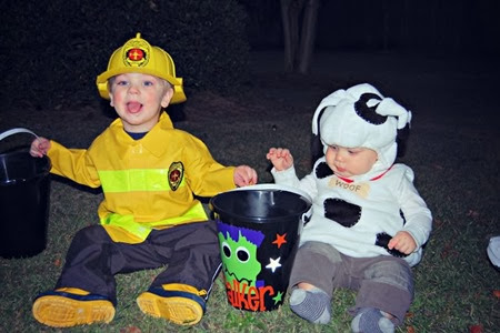 Fireman and Firedog  www.dancingwithashleyblog.com
