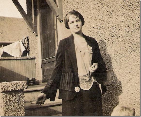 Aunt Ruth (grandpa's sister)