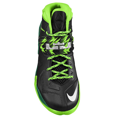 nike zoom soldier 7 gr black neon green 2 03 eastbay LEBRONs Nike Zoom Soldier VII $135 Pack Available at Eastbay