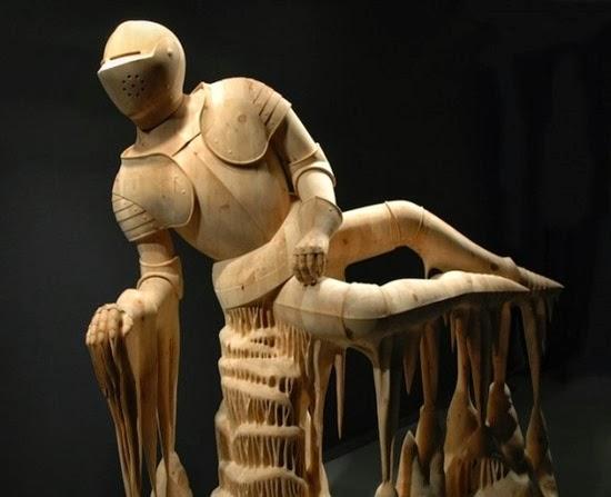 Esculturas surreiais  de Morgan 01