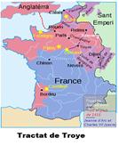Mapa de Troyes