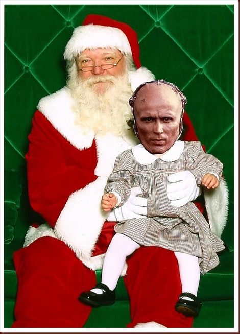 Santa and Robocop