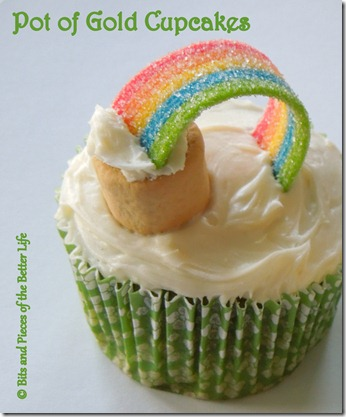 Pot of Gold Cupcake