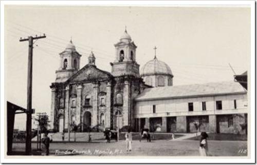 Tondo Church c1900s