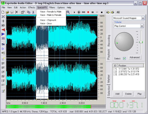 Descargar EXPStudio Audio Editor Free gratis