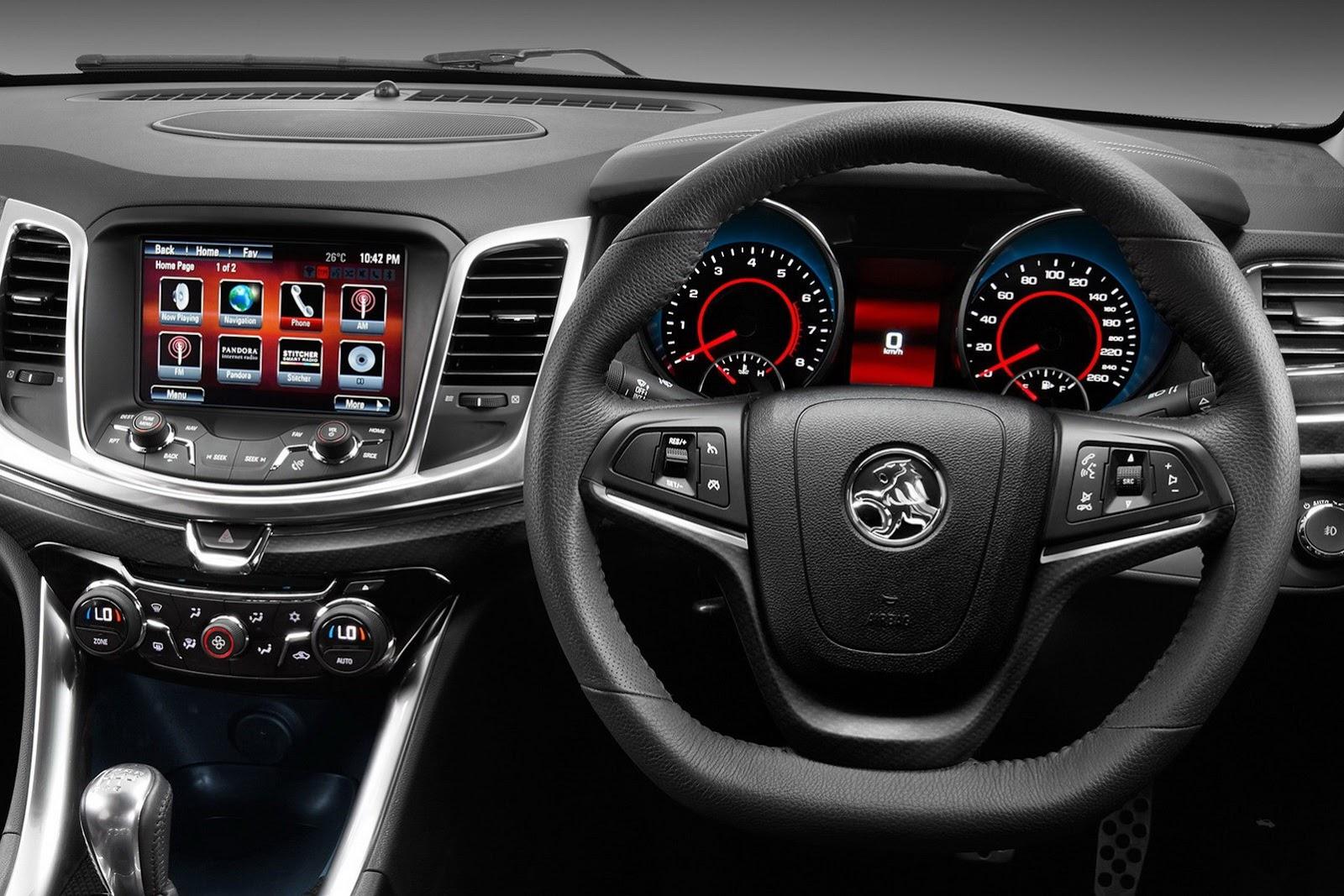 Holden VF Commodore SSV Redline (2014) - pictures, information & specs