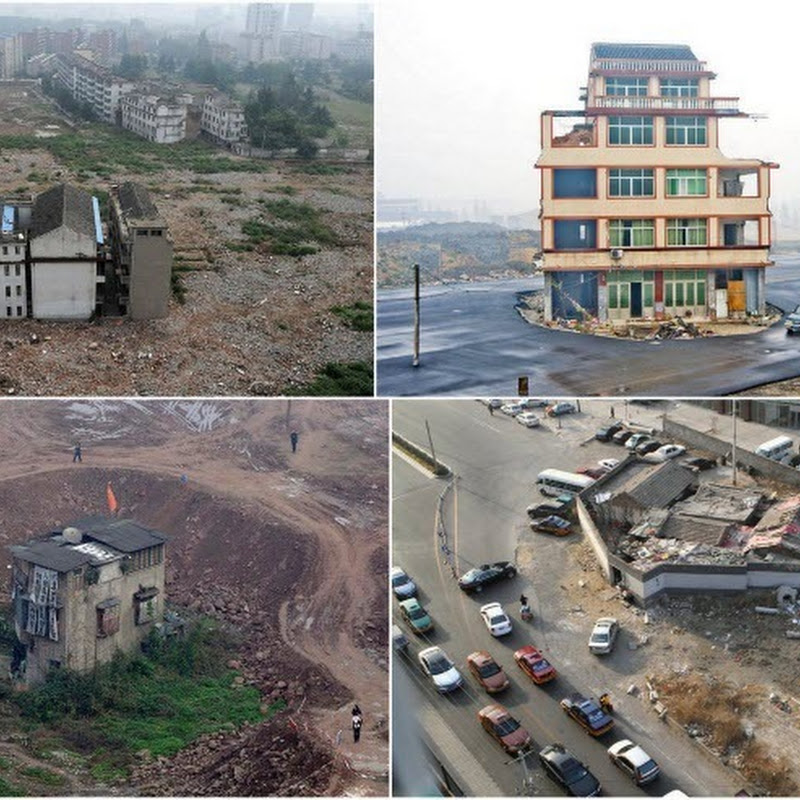 The Toughest Nail Houses of China