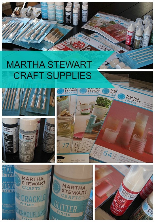 martha stewart craft supplies at michael's