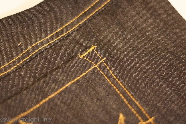 pockets flat felled seams jeans sew along sew a straight line-26