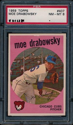 1959 Topps 407 Moe Drabowsky