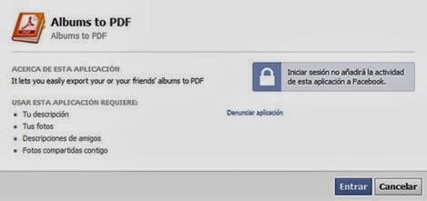 Albums to PDF