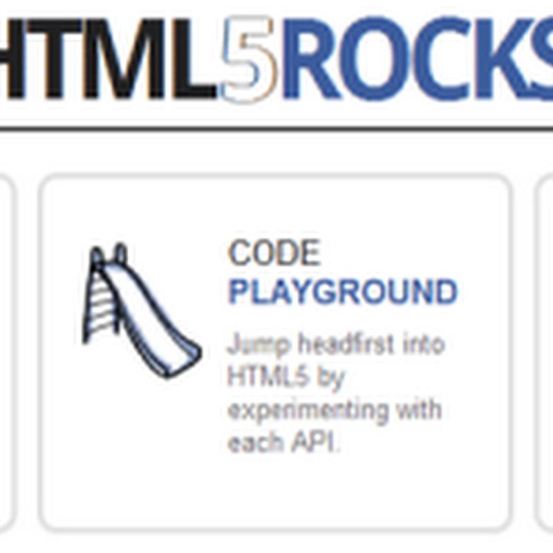5 Rocks, el sitio de promoción de HTML 5 de Google.