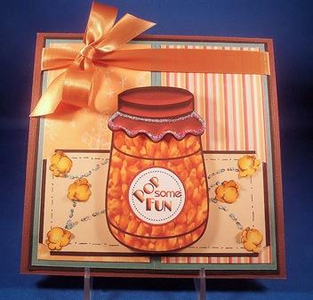 Pop Some Fun Jar Card