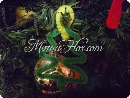 Como hacer un árbol navideño :con limpia pipas