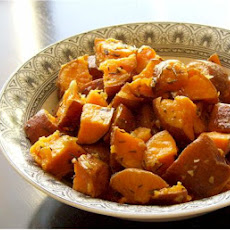Thyme-Roasted Sweet Potatoes