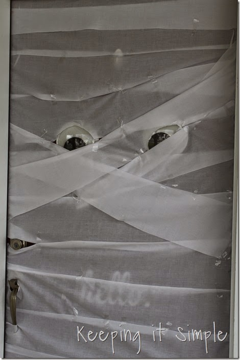 Halloween Decoration Mummy Door (8)