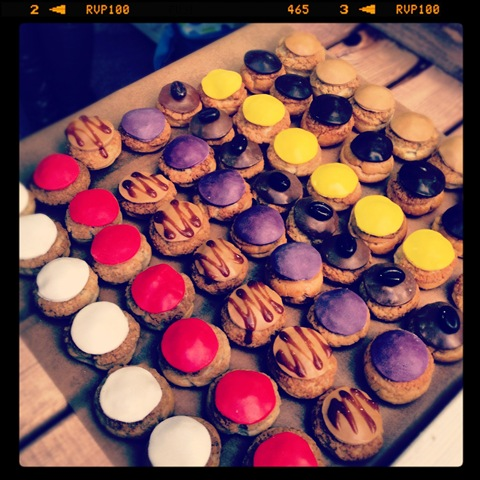 #316 - Choux's pastry buns in every flavour