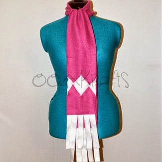 Pink Power Ranger Scarf from OOAKrafts