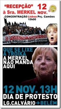 Como receber Merkel dia 12 de Novembro. Nov.2012