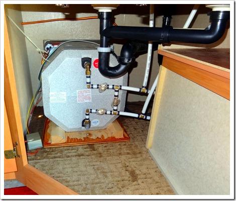 leaking hot water tank