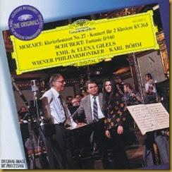Mozart 27 Gilels Bohm