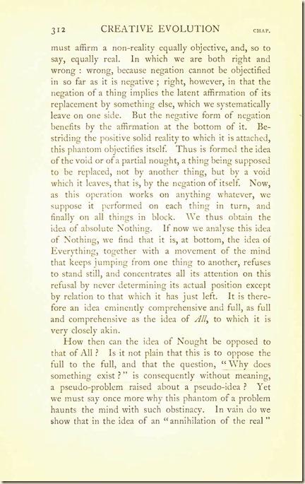 Bergson. Creative Evolution. 1911 creativeevolutio00berguof.test.t_Page_326