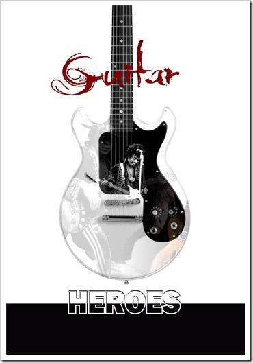 guitar heroes poster