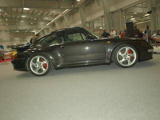 Porsche 911 Turbo model 993, silnik 3.6l. w układzie boxer