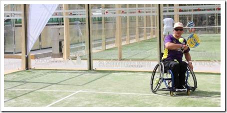Escuela de Pádel Adaptado de la Fundación Deporte y Desafío