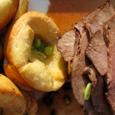 Sunday Supper: Roast Beef and Yorkshire Pudding