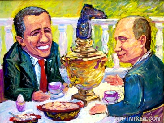 Иностранцы о русской еде