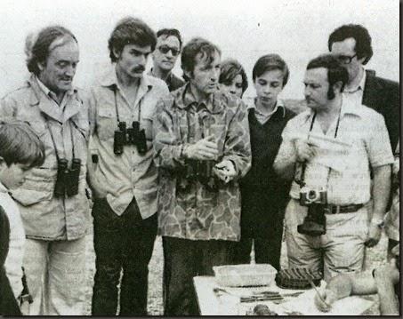 El 9 de junio de 1978 Félix Rodríguez de la Fuente visita la laguna de Gallocanta con Pérez Bujarrabal y Adolfo Aragüés
