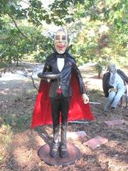 11.2011 Wellfleet Halloween yard 2butler