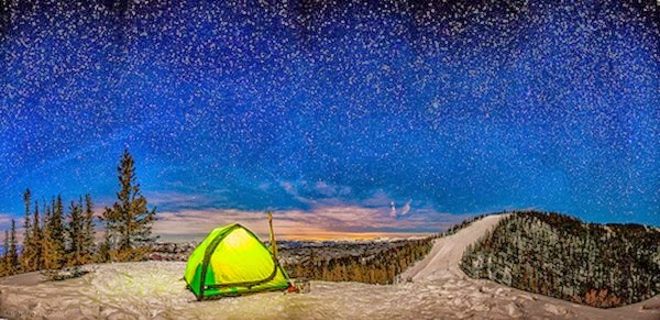 winter camping how to stay warm