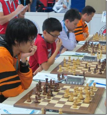 Malaysian Chess Team in Istanbul Turkey, Chess Olympiad 2012