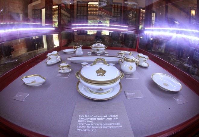 Báu vật hoàng cung ở Festival Huế