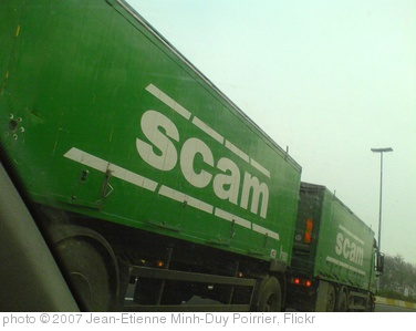 'The scam truck' photo (c) 2007, Jean-Etienne Minh-Duy Poirrier - license: http://creativecommons.org/licenses/by-sa/2.0/