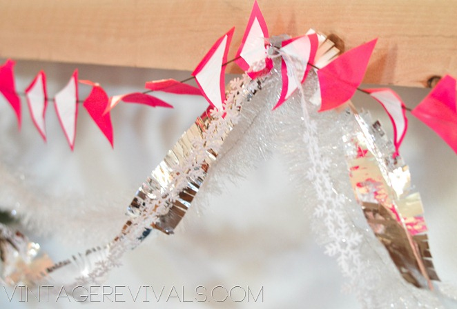 Holiday Duct Tape Garland