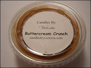 Candles By Victoria - Buttercream Crunch