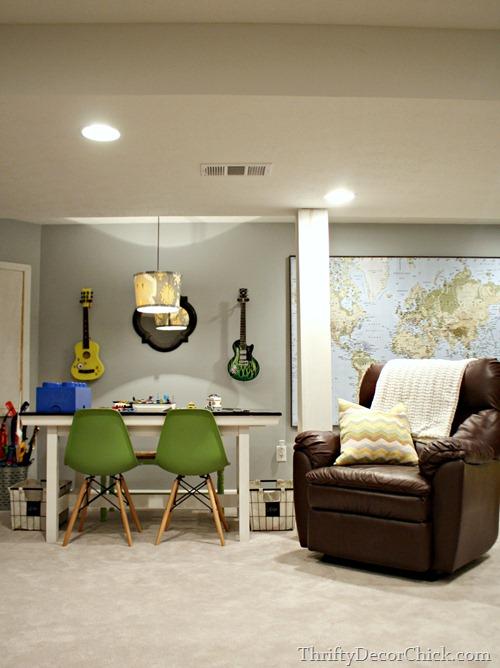 basement decor