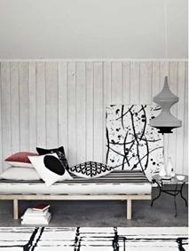 Svart och vit interiör, Emma Thomas 1